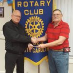 Ayden Rotary Donates to Ayden Christian Care Center